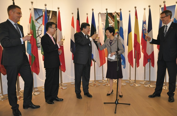 Ceremony for the 20th Anniversary of the EU Office HK